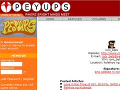 Ronibats in Peyups.com (2006)