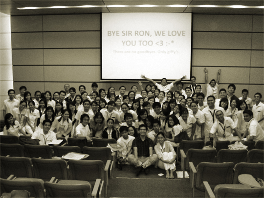 Sir Ronibats and ASMPH 2014
